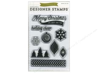 Christmas New Year: Echo Park Home For The Holidays Collection Stamp Holiday Cheer
