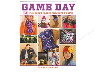 Game Day 50 Fun Spirit Fleece Projects To Sew Book