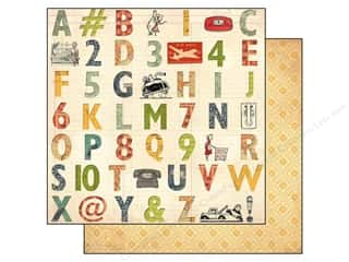 Floral Arranging ABC & 123: Bo Bunny 12 x 12 in. Paper Souvenir Relax (25 pieces)