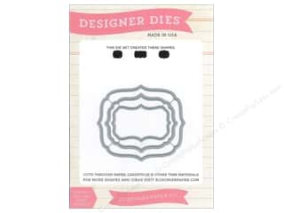 Echo Park Designer Dies Designer Label Set 1 Medium