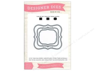 Echo Park Designer Dies Designer Label Set 2 Medium