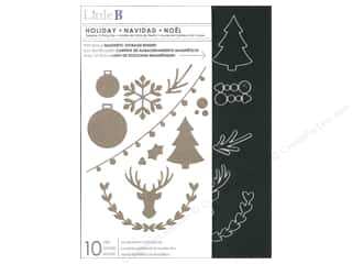 Stencils Winter Wonderland: Little B Cutting Dies Holiday