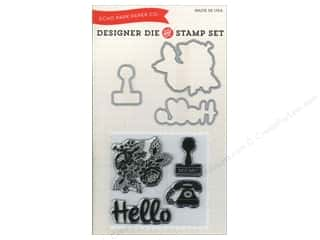 Rubber Stamping $10 - $61: Echo Park Designer Die & Stamp Set Hello Again