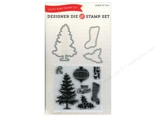 Echo Park Paper Company $14 - $16: Echo Park Designer Die & Stamp Set Tis The Season