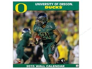 "Licensed Products Gifts: Turner Calendar Wall 12""x 12"" Oregon 2015"