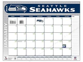 Turner Calendar Desk Seattle Seahawks 2015