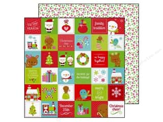 "Doodlebug Family: Doodlebug Santa Express Collection Paper 12""x 12"" Very Merry (25 pieces)"
