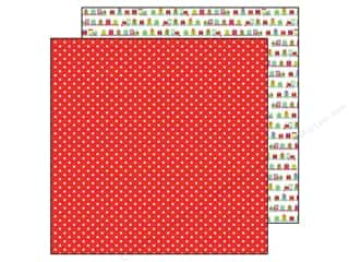 "Christmas Toys: Doodlebug Santa Express Collection Paper 12""x 12"" Merry Mistletoe (25 pieces)"