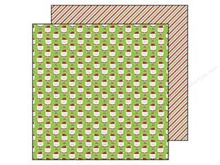 Transportation Papers: Doodlebug Paper 12 x 12 in. Santa Express Sweet Santas (25 pieces)