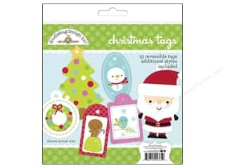 Scrapbooking & Paper Crafts Christmas: Doodlebug Santa Express Collection Craft Kit Tags Christmas