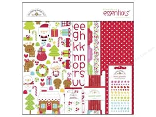 Rhinestones ABC & 123: Doodlebug Santa Express Collection Essentials Kit