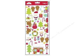 Doodlebug Santa Express Sticker Icon (12 set)