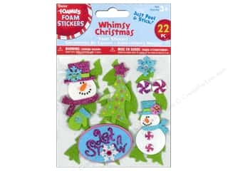 Darice Foamies Sticker Whimsy Christmas 22pc