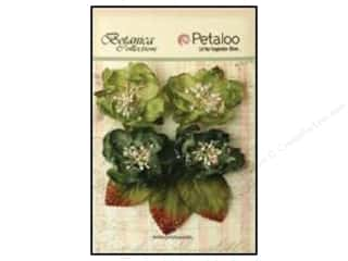 Petaloo Botanica Sugared Blooms Pine Green
