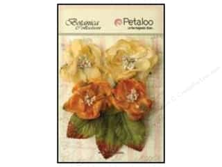Petaloo Botanica Sugared Blooms Gold/Sienna