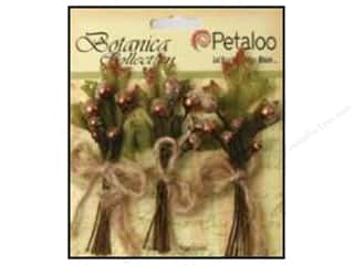 Decorative Floral Critters & Accessories: Petaloo Botanica Collection Sugared Berries Brown