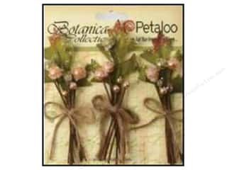 Petaloo Decorative Floral Critters & Accessories: Petaloo Botanica Collection Sugared Berries Peach