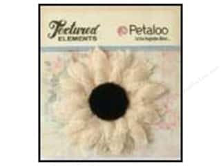 Petaloo Textured Elements Burlap Med Sunflwr Ivry
