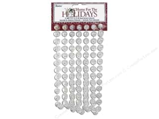 Darice Decor Holiday Garland Bead 12mm Iridscnt 9'