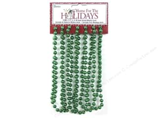 Darice Decor Holiday Garland 8mm  Green 9ft