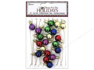 Lights: Darice Decor Holiday Garland Shiny Bulbs Multi 6.5ft