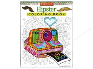 Books & Patterns Sale: Design Originals Coloring Hipster Book