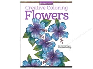 Sale Drawing: Design Originals Coloring Doodle Flowers Book