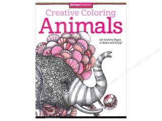 Sale Drawing: Design Originals Coloring Doodle Animals Book