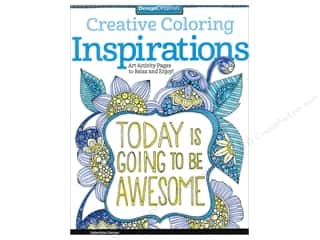 Harper Collins Activity Books / Puzzle Books: Design Originals Coloring Doodle Inspirations Book