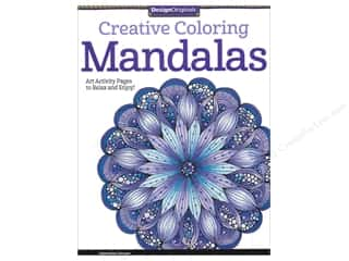 active sale: Design Originals Coloring Doodle Mandalas Book