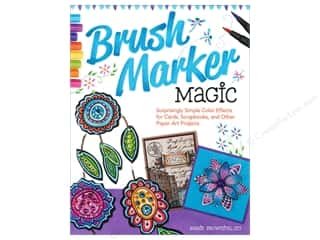 Design Originals Paper Craft Books: Design Originals Brush Marker Magic Book