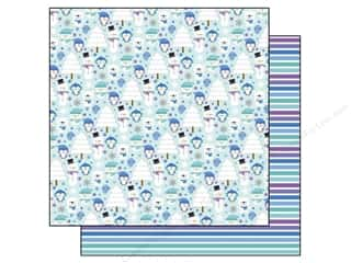 Doodlebug Frosty Friends Paper 12x12 WinteryWonder (25 piece)