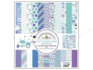 Doodlebug Frosty Friends Paper Pack 12x12