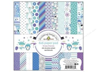 Doodlebug Frosty Friends Paper Pad 6x6