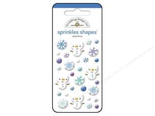Doodlebug Frosty Friends Sprinkle Shape SnowFlurry