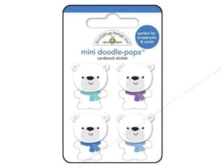 Winter $0 - $3: Doodlebug Frosty Friends Collection Doodle Pops Polar Bear