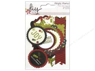 Simple Stories DIY Christmas Card Layers A2