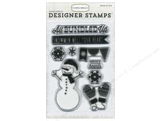 Carta Bella Winter: Carta Bella Designer Stamps All Bundled Up