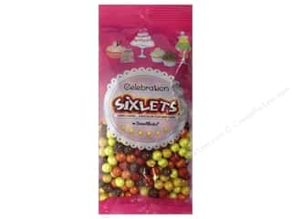 Bags Party & Celebrations: SweetWorks Celebration Sixlets 14oz Autumn Mix