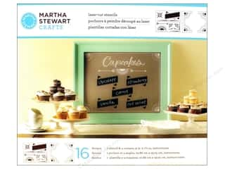 Martha Stewart Crafts $16 - $132: Martha Stewart Stencils by Plaid Chalkboard Banners & Corners