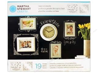 Martha Stewart Crafts Martha Stewart Stencil by Plaid: Martha Stewart Stencils by Plaid Chalkboard Calligraphic Corners