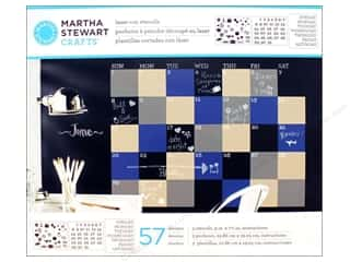 Martha Stewart Crafts ABC & 123: Martha Stewart Stencils by Plaid Chalkboard Calendar