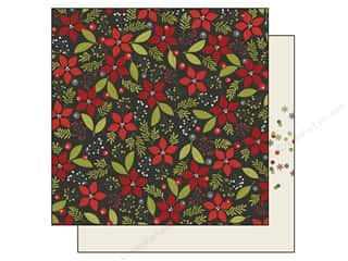 "Joy Flowers: Simple Stories DIY Christmas Collection Paper 12""x 12"" Joy (25 pieces)"