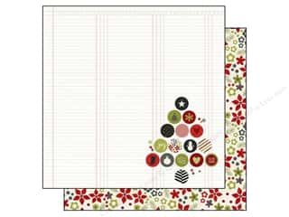 Simple Stories DIY Christmas Paper 12x12 Merry (25 piece)