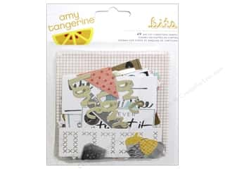 Decorative Floral Critters & Accessories Paper Die Cuts / Paper Shapes: American Crafts Ephemera Amy Tangerine Stitched
