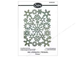 Sizzix Die RBright Thinlits Winter Card Snowflakes