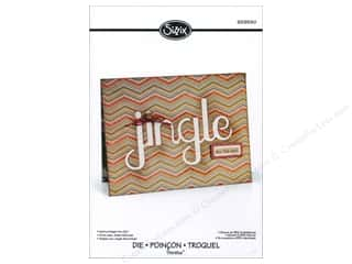 Sizzix Die RBright Thinlits Winter Cut Out Jingle