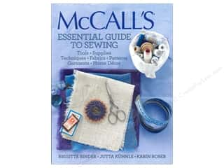 McCall's Essential Guide To Sewng Book