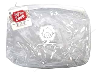 Purse Making Clear: Happy Lines Sac Knit Accessory White