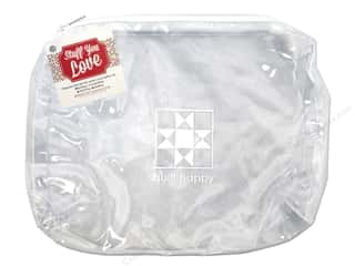 Purse Making Clear: Happy Lines Sac Quilt Accessory White